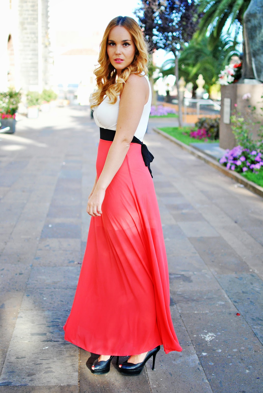 nery hdez, jollychic, walg london, ombre hair, mechas californianas, long dress, vestido largo