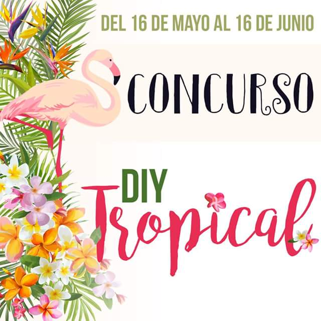 Concurso creativo DIY tropical