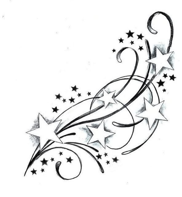 522c824b443e4 Shooting Star Tattoo Designs 2016 | Tattoo Yakuza Japanese