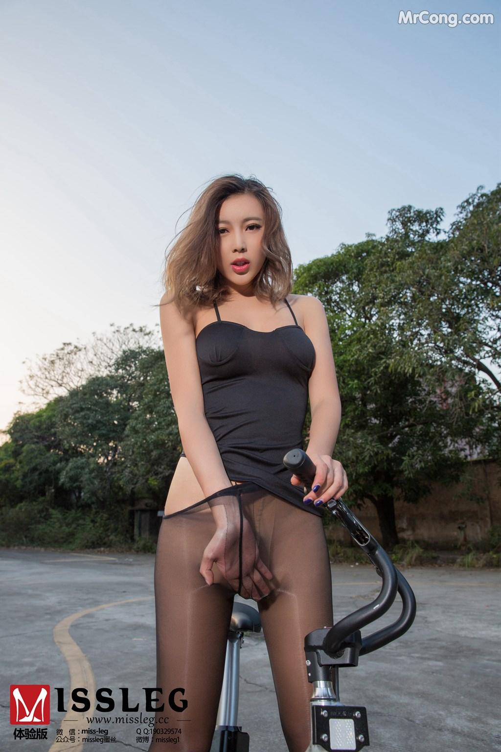 Image MISSLEG-2018-02-09-No.007-Yao-Yao-MrCong.com-008 in post MISSLEG 2018-02-09 No.007: Người mẫu Yao Yao (遥遥) (8 ảnh)