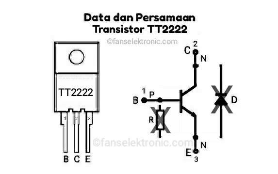 Persamaan Transistor TT2222