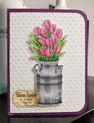 Milk Can Flowers Digital Stamp Set from Pickled Potpourri Designs