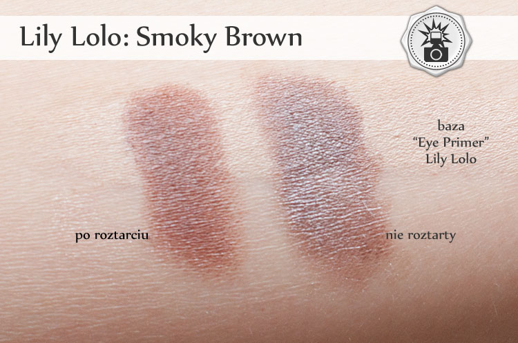 Lily Lolo Smoky Brown swatches
