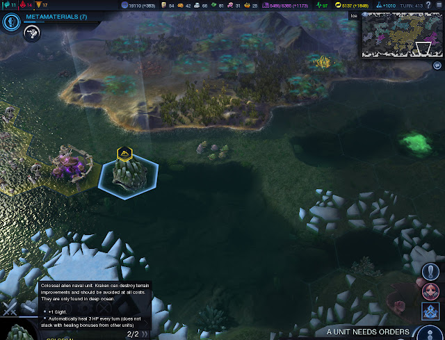 Civilization: Beyond Earth  | Kraken Screenshot