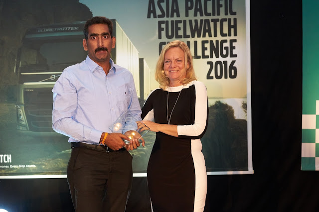 Dazzling finish at the Volvo trucks Asia Pacific Fuelwatch Challenge 2016