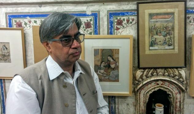 Mahaveer Swami ji - miniature art expert from Bikaner, Rajasthan