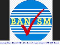 Perangkat Akreditasi SMPLBTerbaru Rekomendasi BAN SM dalam 1 Paket