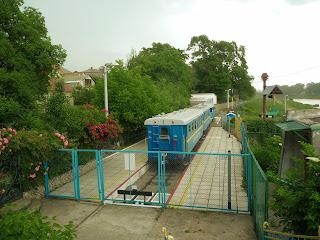 Ужгород. Детская железная дорога