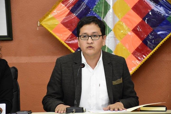 Viceministro de Salud y Promoción, Álvaro Terrazas Peláez