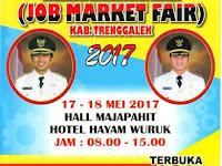 Ramaikan Trenggalek Job Fair 2017