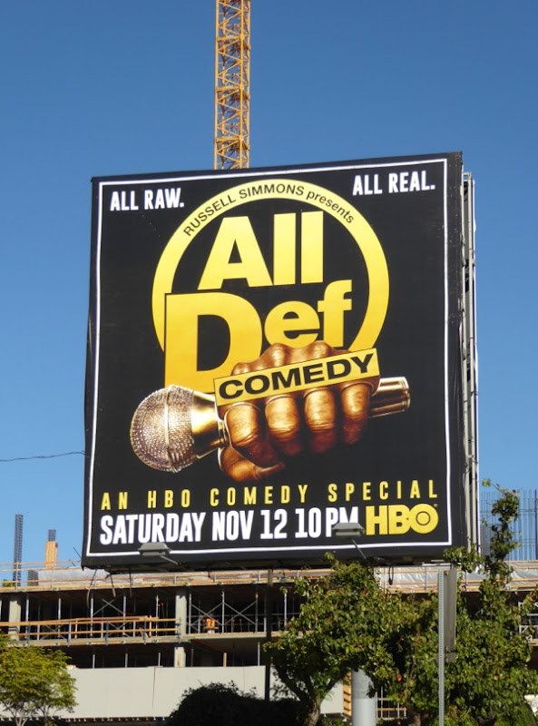 All Def comedy HBO billboard