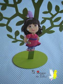 diadema-fieltro-personalizada-Dora&friends-elbosquedelulu-regalo-personalizado-personajes-infantiles-felt-feltro