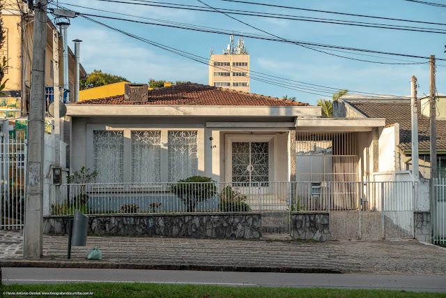 Casa na Rua Inácio Lustosa.