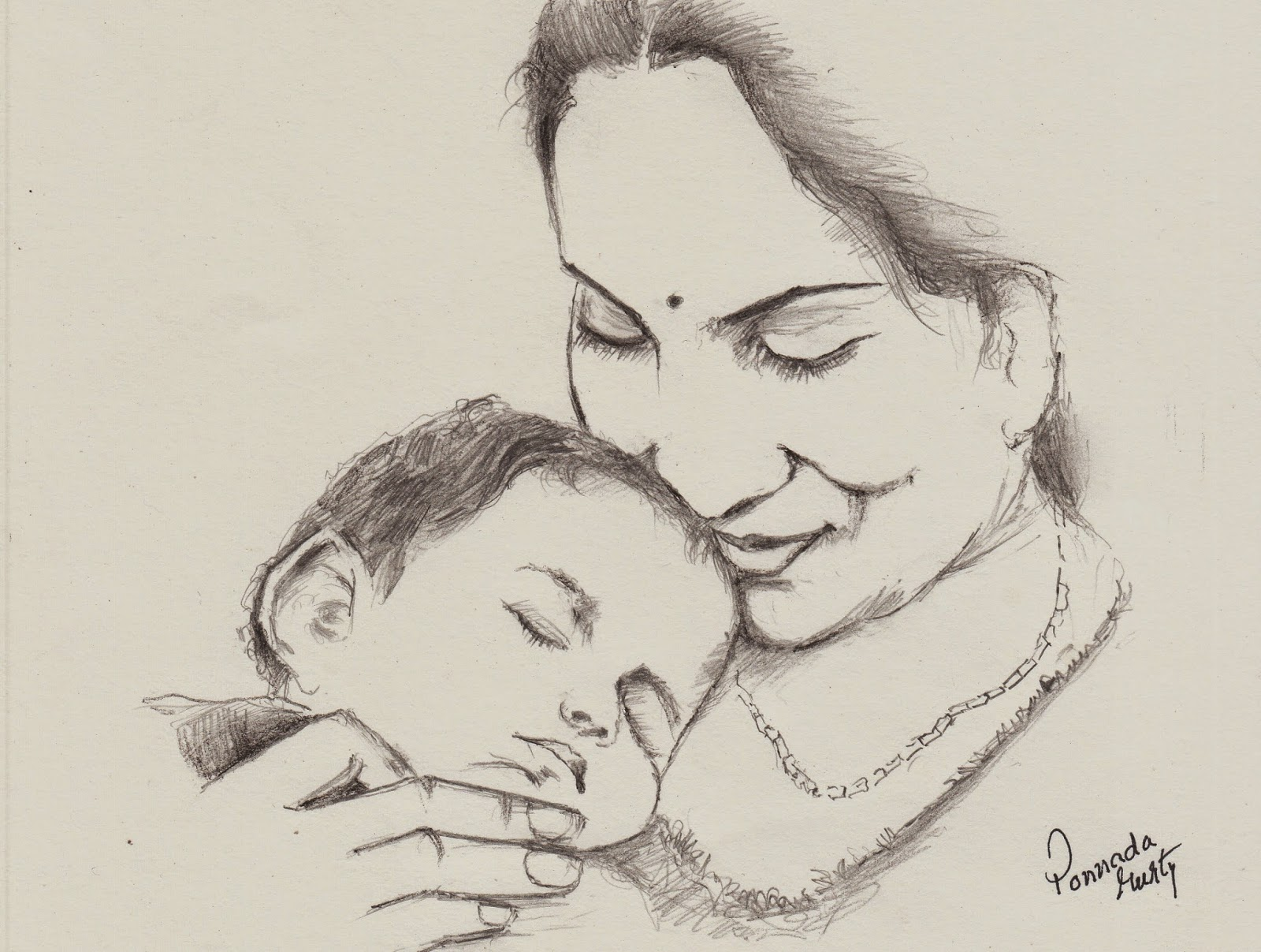 Heart Touching Drawing