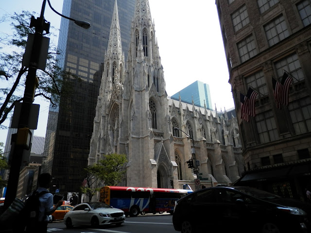 Cathédrale St Patrick 5ème avenue