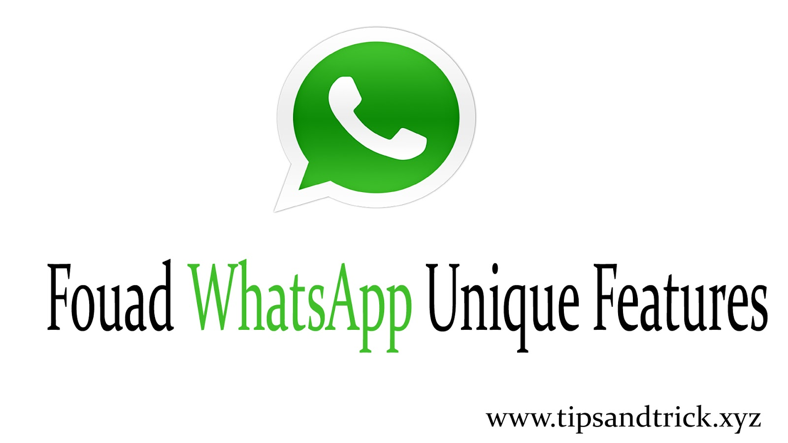 Fouad WhatsApp Download v7 60 - Latest Version (Update APK) ~ Tips