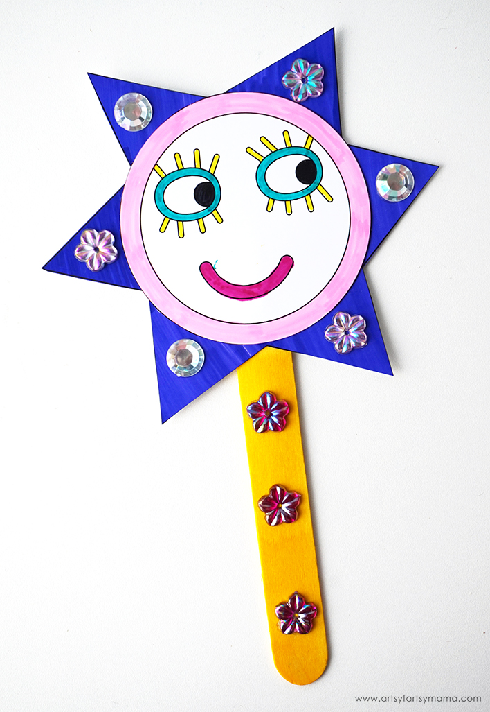 Make a magical wand like Fairy Princess Holly from Nick Jr.'s Ben & Holly's Little Kingdom!
