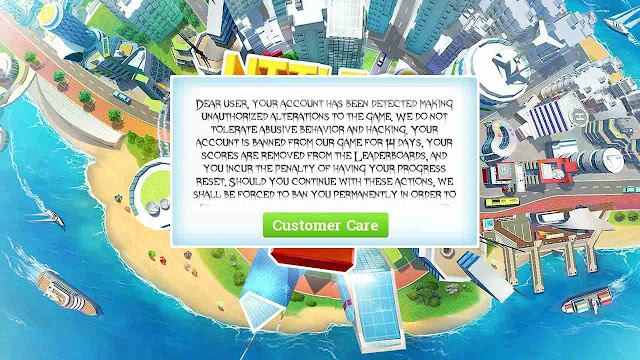unban dari gameloft game
