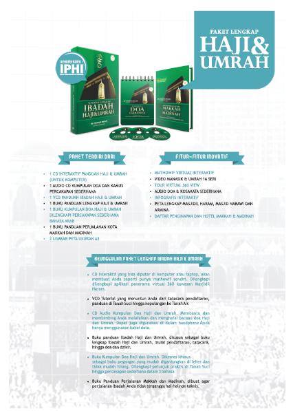 Jual Buku Paket Lengkap Haji Dan Umroh