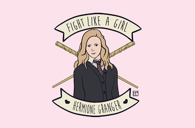 Fight Like a Girl Hermione