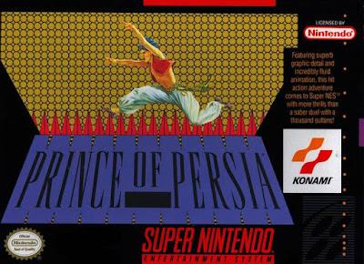 Prince of Persia download em português - Super Nintendo