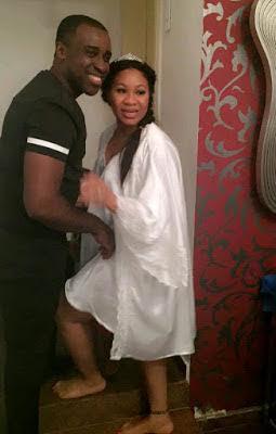 Frank Edoho & wife, Sandra, welcome their second child, a boy!