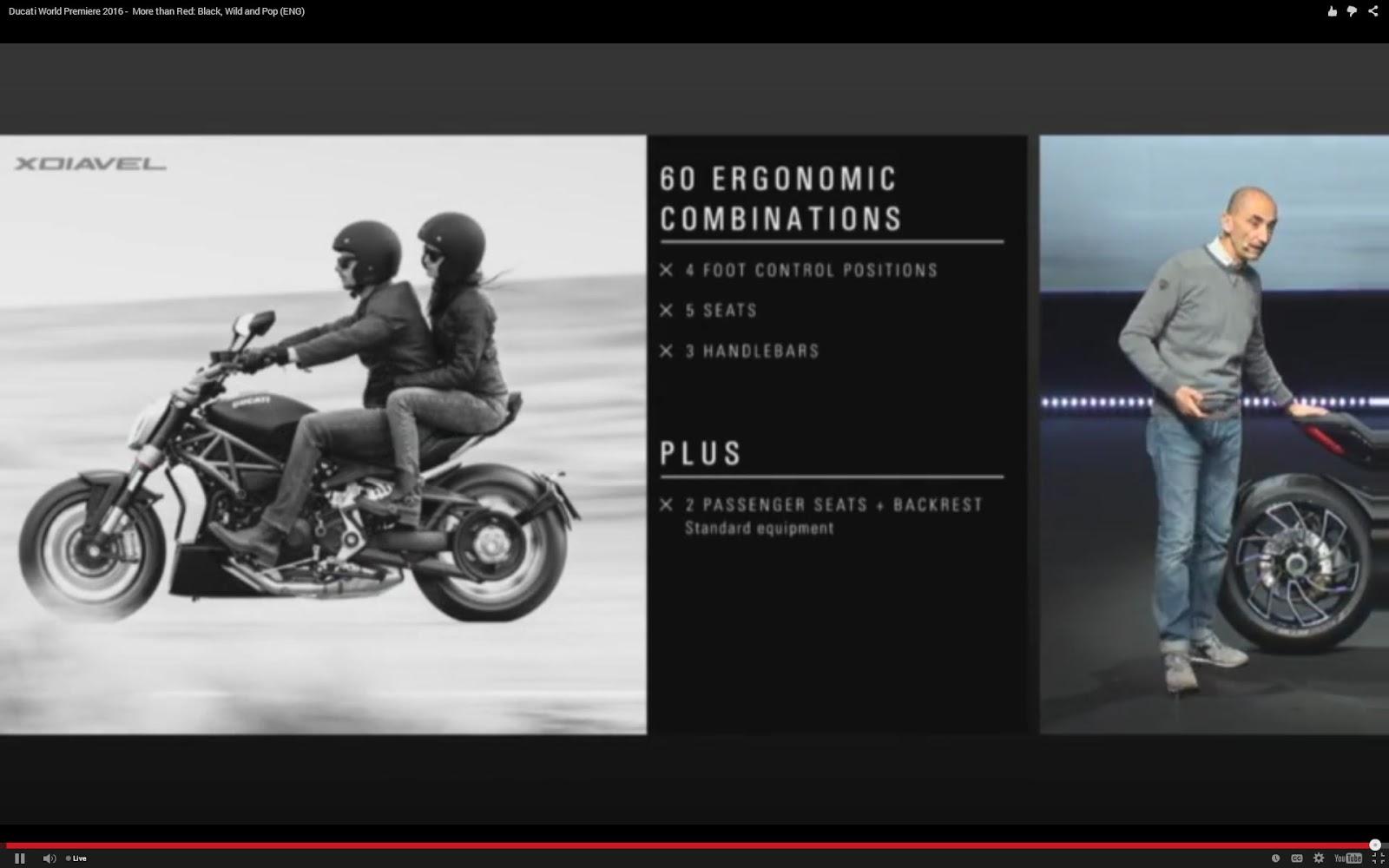 blog of the biker 🏍: xdiavel ducati announcement - new super