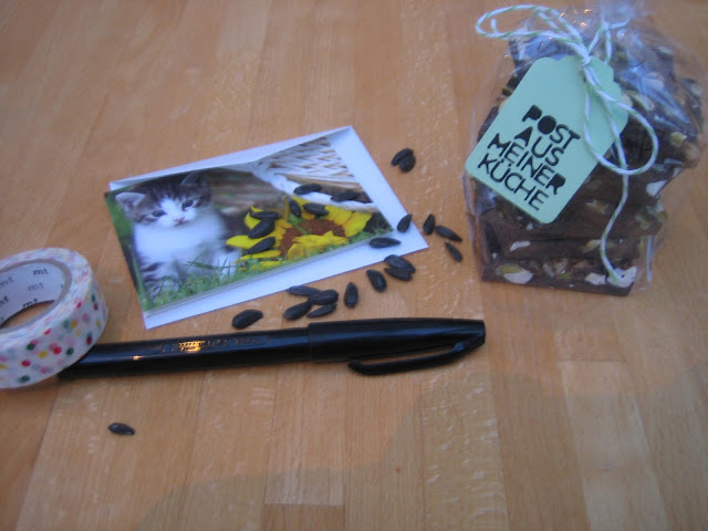 Post aus meiner Küche – Thema Schokolade…..