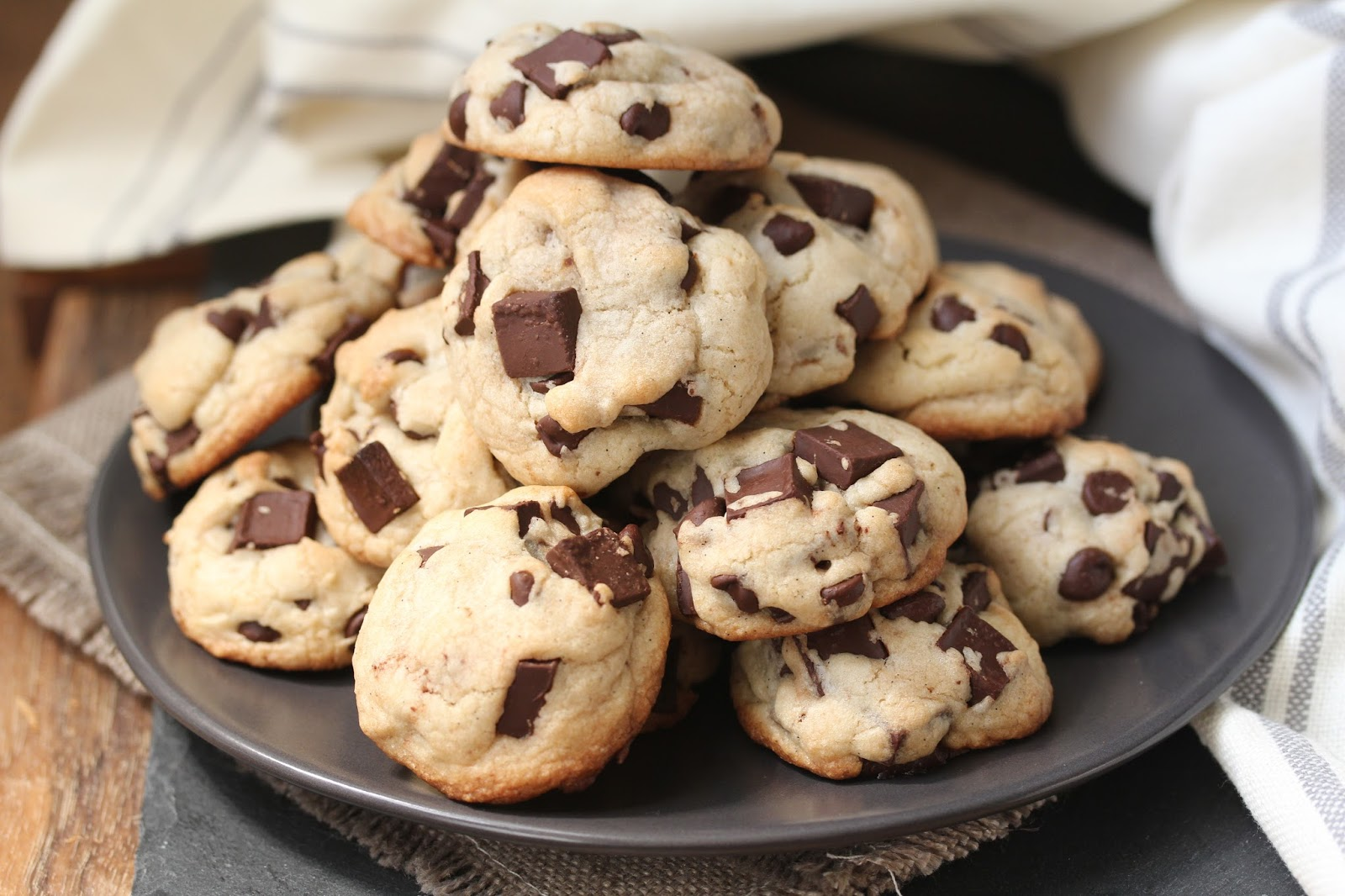 Vanilla and Chocolate Rocks | My Favorite Chocolate Chip Cookie ...