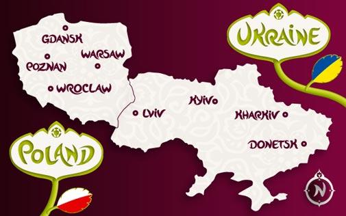 Poland and Ukraine Euro 2012