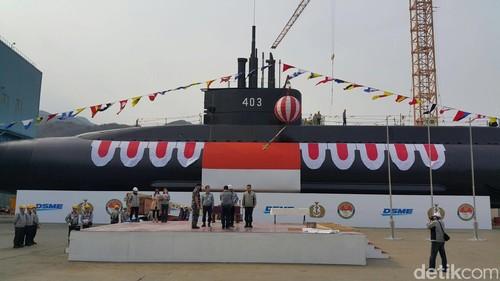 Gunakan Teknologi Baru Kapal Selam TNI AL Mampuh Bertahan 3 Minggu di Kedalaman