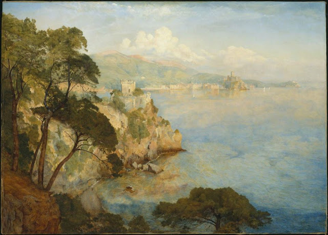 Gulf of Spezia (1884) by Henry Roderick Newman  MFA, Boston.