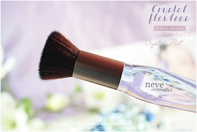 Crystal flat review NeveCosmetics Crystal Flawless Brushes