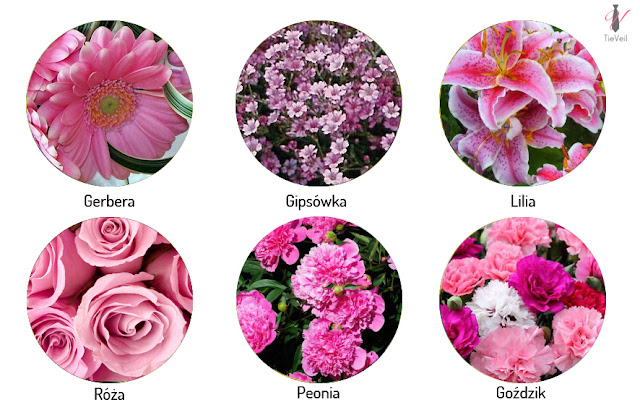 Kwiaty sezonowe na wesele. Maj