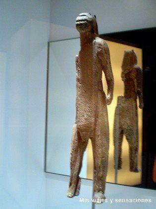 El hombre león de Hohlenstein-Stadel , Museo Parque de la Prehistoria, Teverga, Asturias