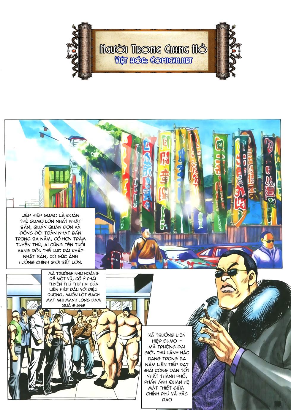 Người Trong Giang Hồ chapter 299 trang 3