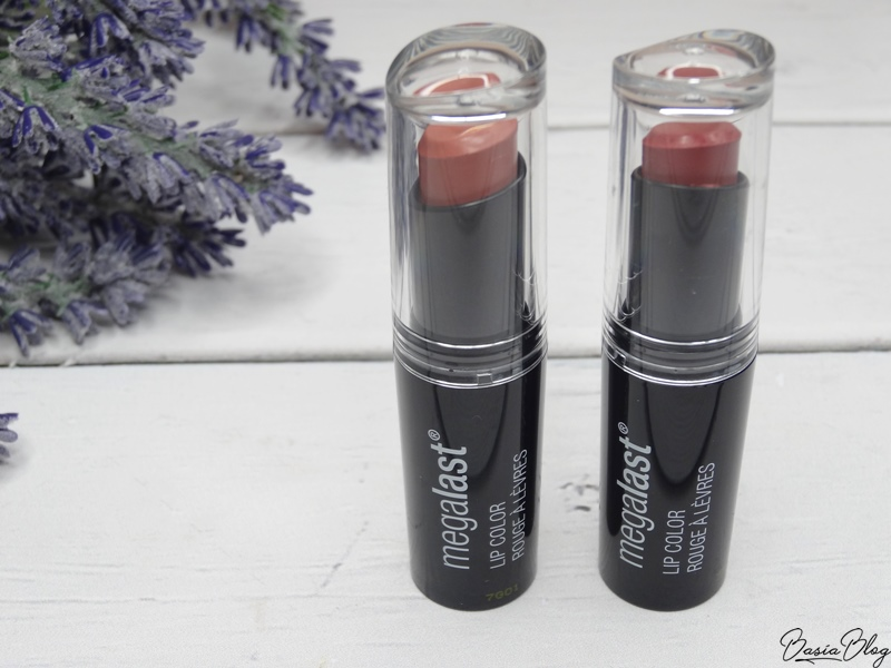 Wet n wild pomadka megalast 902 bare it all, 915 spiked with rum