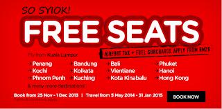 teresa - FREEBIES - AirAsia FREE Seats!