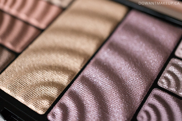 Maybelline Total Temptation palette swatches and review