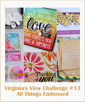 March Challenge: All Things Embossed