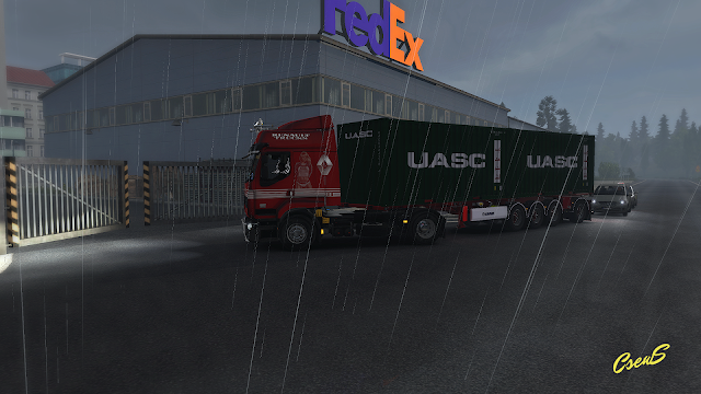 ets 2 animated gates in companies v3.1 screenshots 3