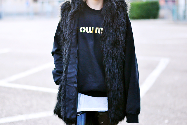 Brian lichtenberg, the outnet, sweater, meow, gold