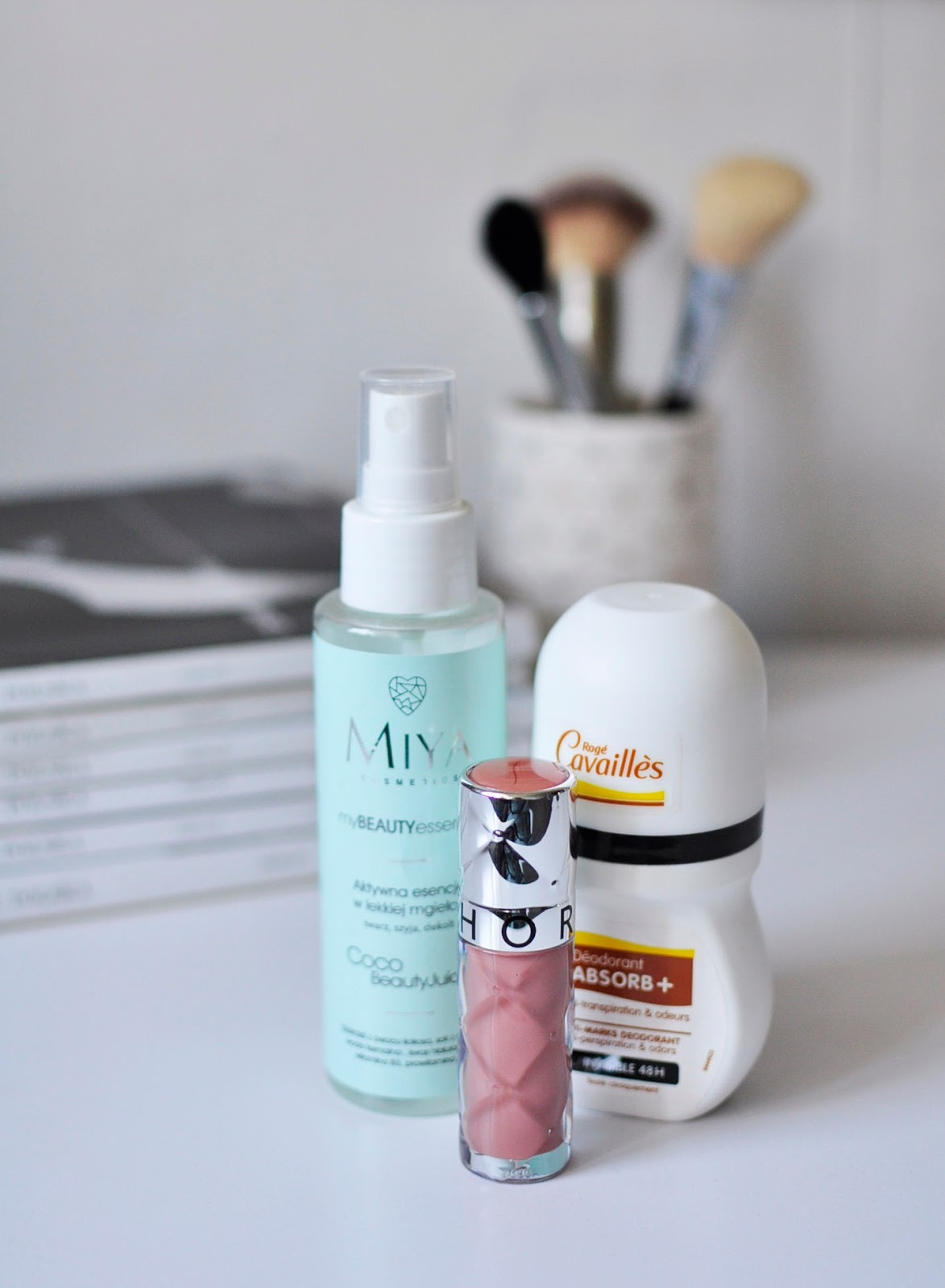 Ulubieńcy #sierpnia | MIYA Cosmetics  Roge Cavailles Sephora