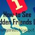 Facebook Trick, Hide Kiye hue Friend List Ko Kaise Dekhe...