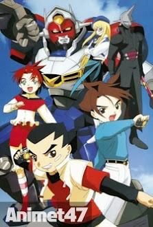 Gear Fighter Dendoh - Gear Senshi Dendou 2000 Poster