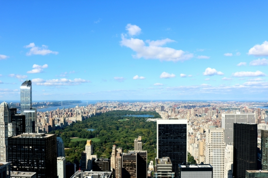 Top of the Rock | Central Park View | Rockefeller Center, New York City