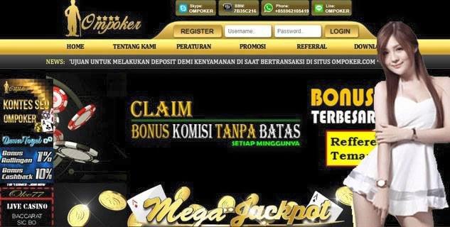 OMPOKER - bandar poker pkv terpercaya di indonesia