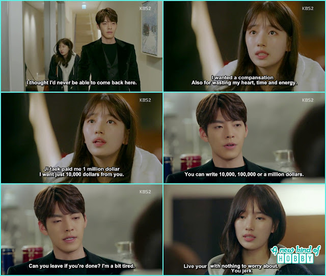 no eul want compansation from Jon Young for wasting her heart - Uncontrollably Fond - Episode 15 Review