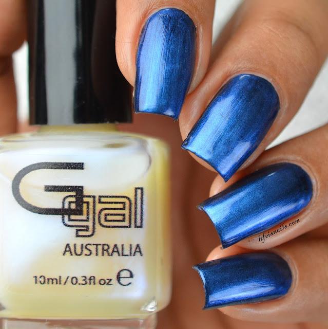 Glitter Gal Soft Blue