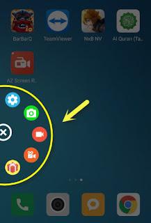 android dan video call whatsapp tanpa root dengan bantuan AZ Video Recorder Cara Merekam layar hp  android & video call whatsapp (wa) tanpa root dengan AZ Video Recorder